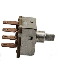 Switch, Rotary 3 positions / 4 prongs