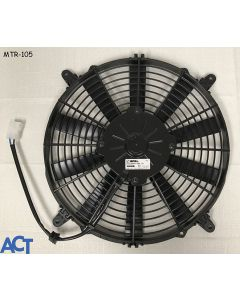 "Fan Assembly, Condenser, 12""Extull 12V, W/(4)Mtf-001 Mtg Feet"