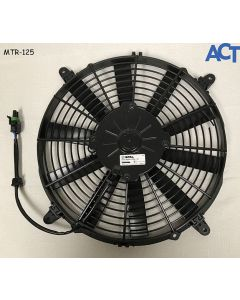 "Fan Assembly, Roof Cond, 12""Extull 12V, W/(4)Mtf-001 Mtg Feet"
